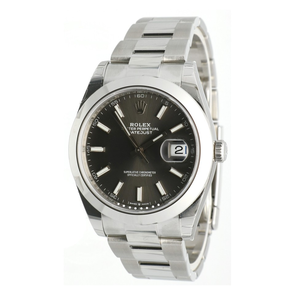 Rolex Datejust II 41mm Rhodium Ref.126300