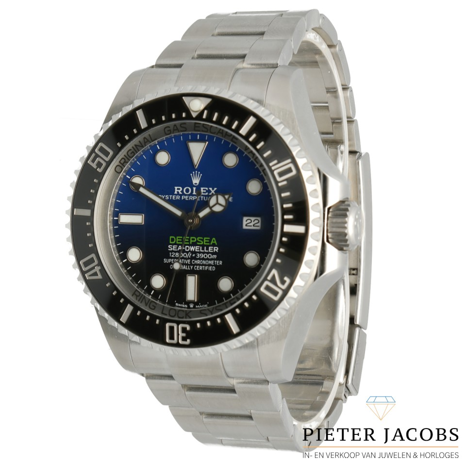Rolex Sea-Dweller Deepsea D-Blue James Cameron Ref.126660