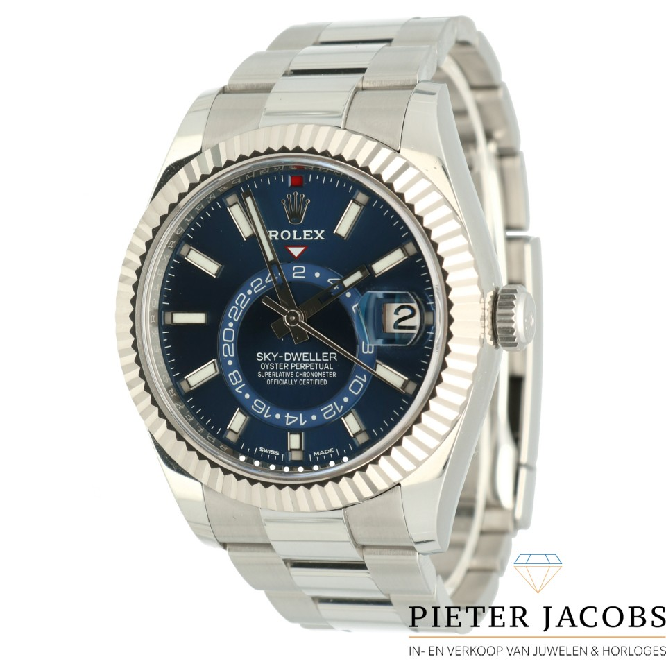 Rolex Sky-Dweller Blue Dial 42mm