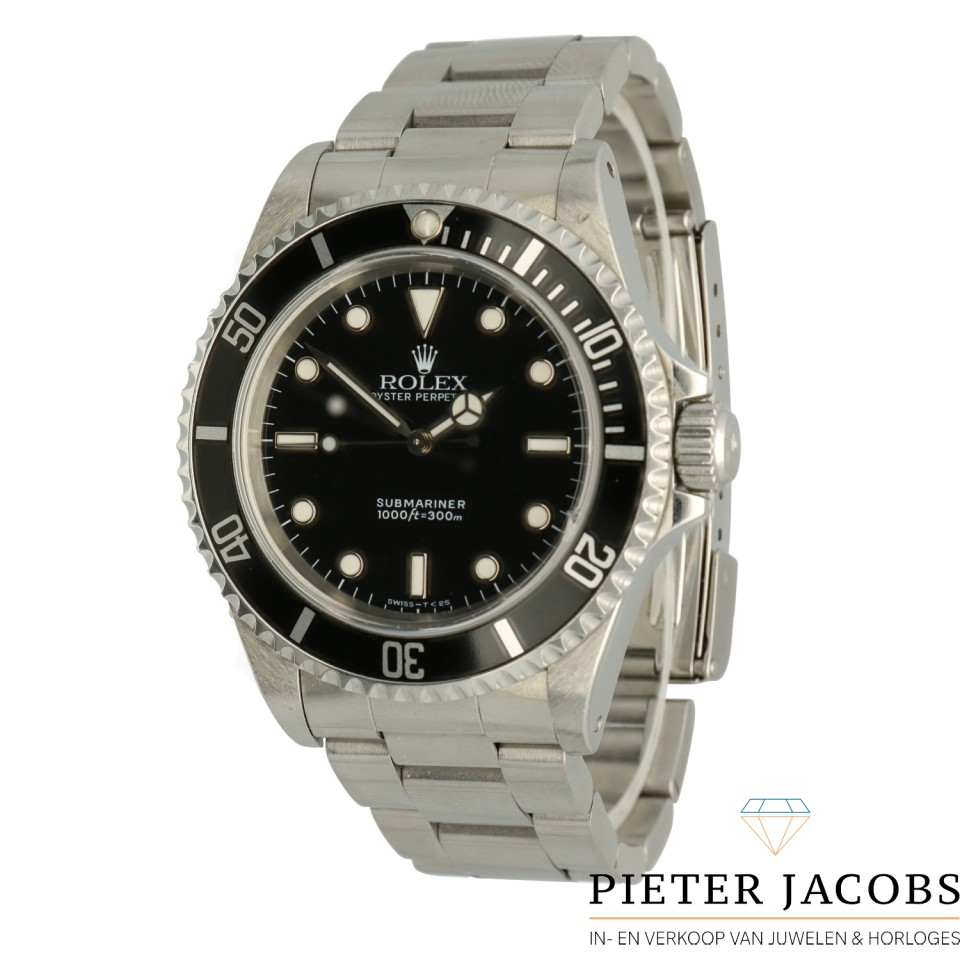 Rolex Submariner No Date Two-Liner Ref. 14060