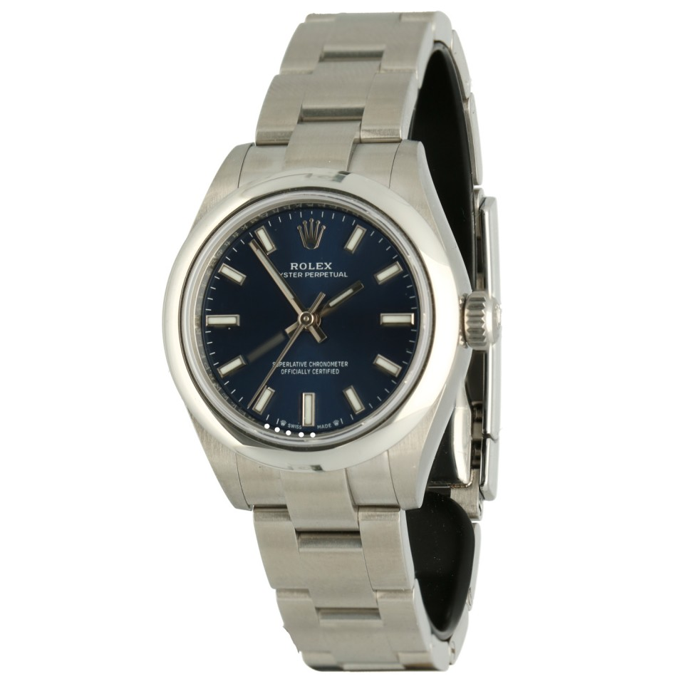 Rolex Oyster Perpetual 28mm ''NEW 2021'' Blue Dial
