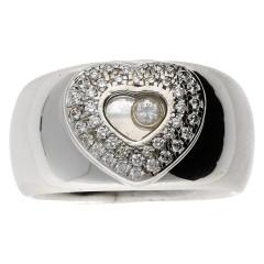 18 krt witgouden ring