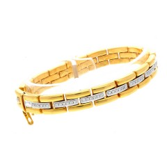 18 krt Gouden Armband met Briljant ca. 1.35 Ct