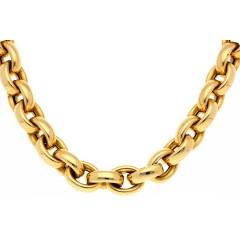 14Krt. gouden collier Italiaans design Monzario