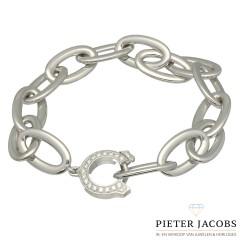 Witgouden Cartier Armband met Briljant.
