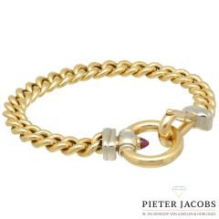 18 krt massief gouden Gourmet armband van het merk Signoretti