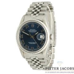 Rolex Datejust 36 Blue/Roman Ref. 16220