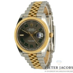Rolex Datejust 41 Goud/Staal