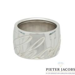 18 Krt. Witgouden ring van Chopard collectie
