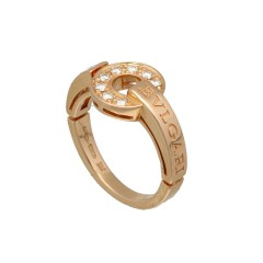 18Krt. rósegouden ring
