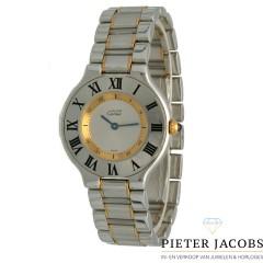 Cartier 21 Must de Cartier Goud/Staal