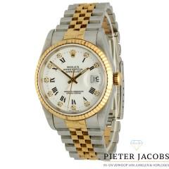 Rolex Datejust 36 goud/staal Ref. 16233