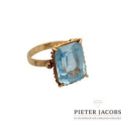 14 krt vintage ring jaren