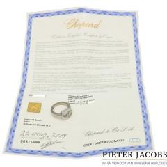 Witgouden Chopard Happy Diamonds Ring. Nieuwpr.€ 3260,-