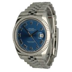 Rolex Datejust 41 Jubilee Ref.126334 Blue Roman Dial
