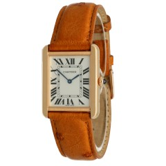 Cartier Tank Solo Goud/Staal