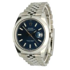 Rolex Datejust Jubilee Blue Dial Ref:126300.Nieuw 9/2020