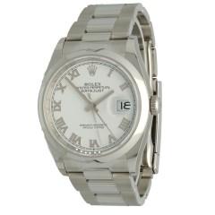 Rolex Datejust 36 White Roman Ref.126200