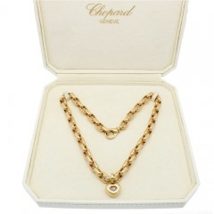 18 Krt  Chopard Happy Diamonds Collier 0.05 Ct