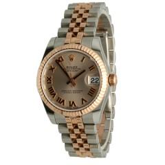 Rolex Datejust 31 Everose Goud/Staal Ref.178271