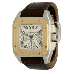 Cartier Santos 100 Xl Chronograph Ref.2740