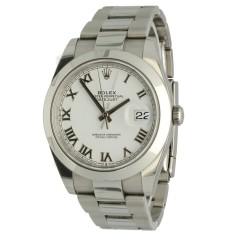 Rolex Datejust 41 White Roman Ref.126300