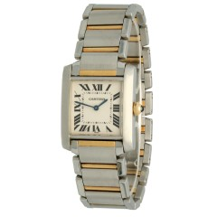 Cartier Tank Francaise Goud/Staal Ref.2301