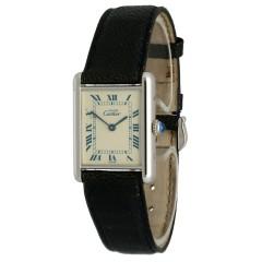 Cartier Tank Vermeil 925 Zilver