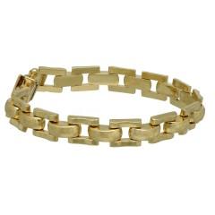 14 krt gouden Vintage schakel armband