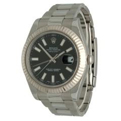 Rolex Datejust II Ref.116334 Black Index