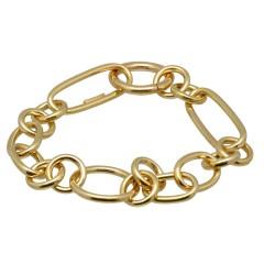 18krt gouden fantasie Armband.