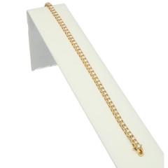 Geelgouden tennisarmband met 3.00 Ct