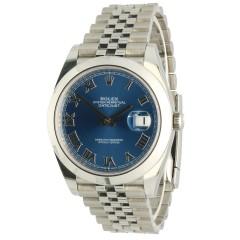 Rolex Datejust 41 Ref.126300 Azzurro Blue
