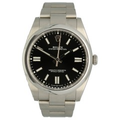 Rolex Oyster Perpetual 41 Black Dial 124300