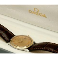 Omega DeVille Prestige Goud/Staal