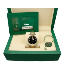 Rolex Explorer Ref.124273 Goud/Staal