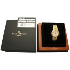 Baume & Mercier Riviera 18K. Gold Ref. 87012 ''Full set 1998''
