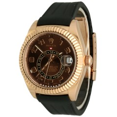 Rolex Sky-Dweller Chocolate Arabic Ref. 326135