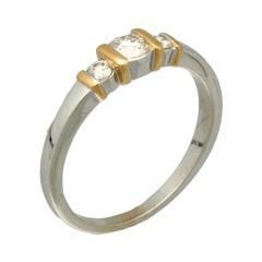 """Witgouden Ring van het merk """"Le Chic""""0.40 Ct"""