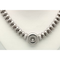 18 krt witgouden collier van Chopard Les Chaines collectie.