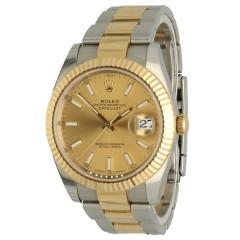 Rolex Datejust 41 Gold/Steel Ref.126333