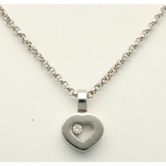 Chopard Happy Diamonds 18Krt. witgoud collier