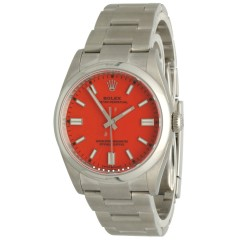 """Rolex Oyster Perpetual 36 Ref.126000 """"Coral Red"""""""